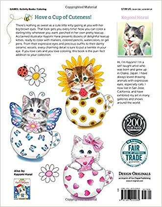 Hot Sale 2017 Teacup Kittens Coloring Book