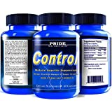 #1 Appetite Suppressant - Control 60 Pills- Best Non Stimulant Fat Burner Supplement for Weight Loss