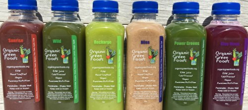 Organic Green Foods 3 Day Raw Signature Juice Cleanse - 18 Bottles by Organic Green Foods (Image #3)