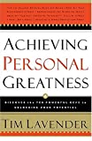 Achieving Personal Greatness, Tim Lavender, 0785265562