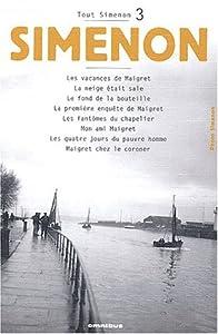 "Afficher ""Tout Simenon n° 3<br /> Oeuvre romanesque.3"""