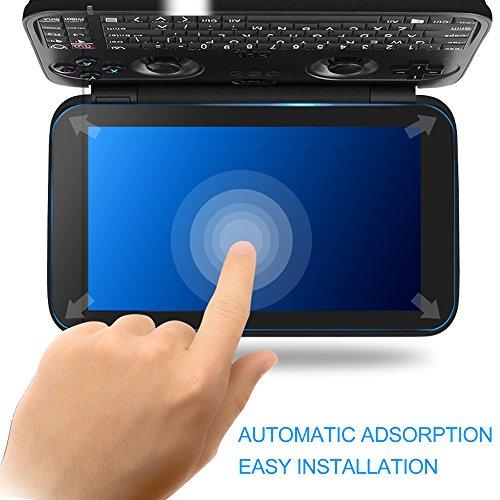 KuGi GPD Win Screen protector,9H Hardness HD clear Tempered Glass Screen Protector for GPD Win smartphone(Clear) Photo #2