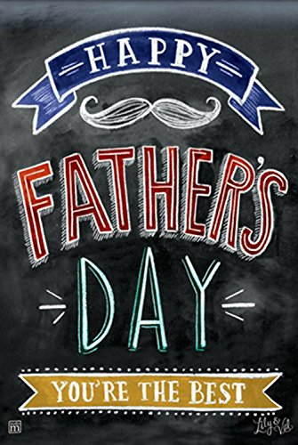 Dad's Day Garden Flag Decorative Happy Father's Day Yard Banner 12.5