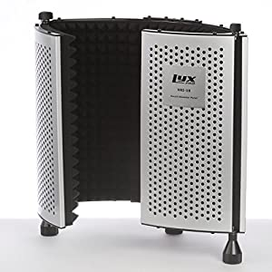 LyxPro VRI-10 Vocal Sound Absorbing Shield Fo...