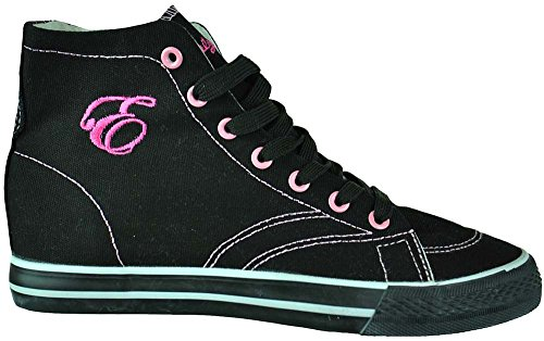 Altas Rosa 20 Mujer Zapatos Eternity Early Negro Sneaker Zapatillas OwY77H