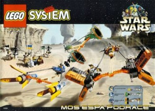 LEGO Star Wars Mos Espa pod race 7171 (japan import)