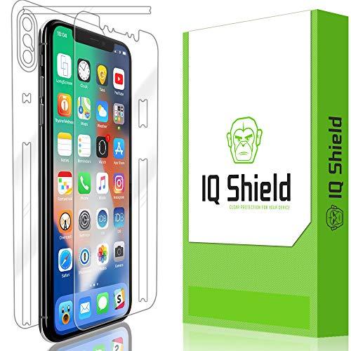 Apple iPhone Xs Screen Protector, IQ Shield LiQuidSkin Full Body Skin + Full Coverage Screen Protector for Apple iPhone Xs (5.8