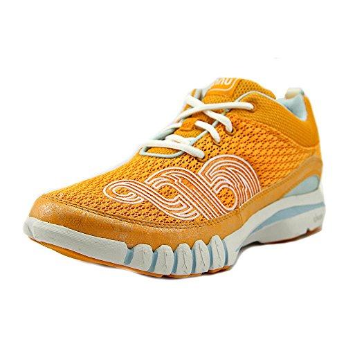 Ahnu Women's Yoga Flex Orange Zest Ankle-High Cross Trainer Shoe - 8M