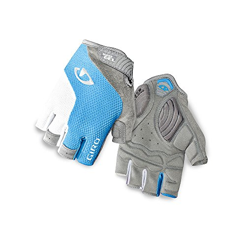 Giro Strada Massa SG Womens Cycling Gloves Blue Jewel/White Small