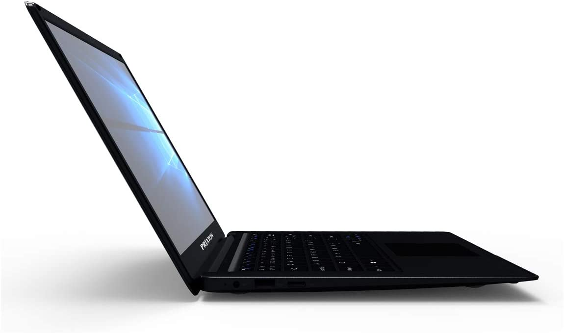 PRIXTON - Ordenador Portatil 14 Pulgadas, Procesador Intel z8350 Core, Sistema Operativo Windows 10, 2GB RAM / 32GB Memoria Interna, Salidas HDMi, 2xUSB y Jack 3,5 mm | PC14