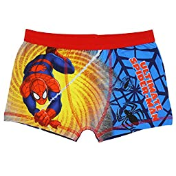 Ultimate Spiderman Boxer Shorts for Boys - 7-8 years (128 cms)