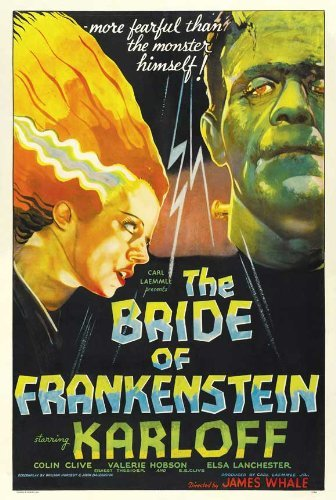 Image result for the bride of frankenstein poster