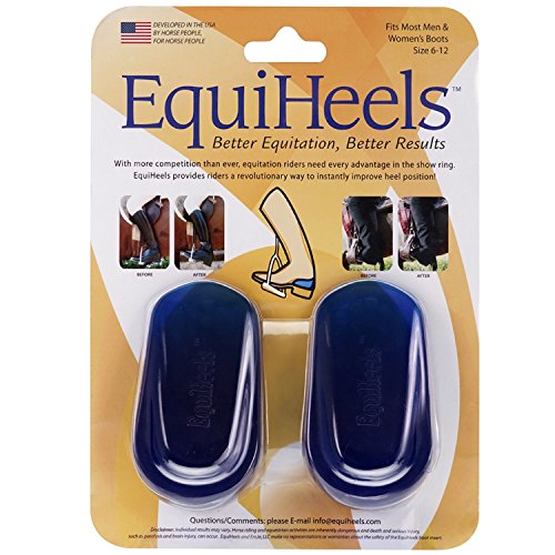 EQUIHEELS Equestrian Boot Inserts for Better Equitation & Results