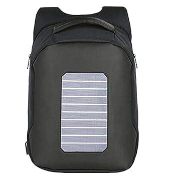 Mochila solar mochila de senderismo con energía solar ...