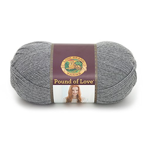 Lion Brand Yarn Hometown Yarn, Oxford Grey