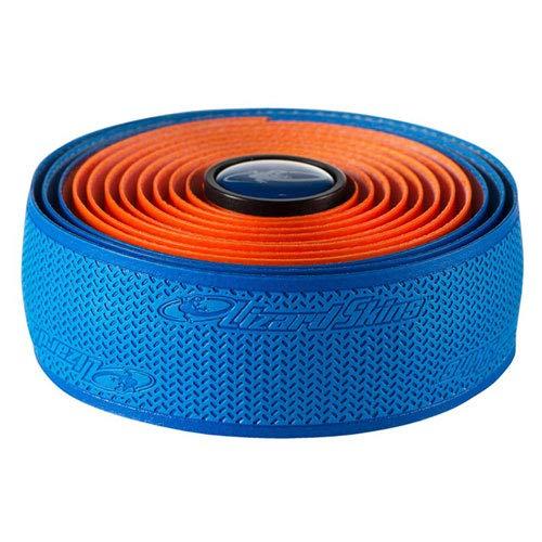 Lizard Skins DSP 2.5mm Dual Handlebar Tape - Bleu Cobalt/Orange