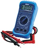 Draper Digital Multimeter with Backlight - Blue