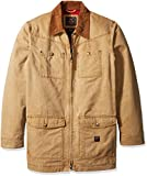 Walls Men's Big and Tall Redford Vintage Duck Barn Coat, Washed Pecan, 3X