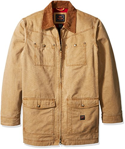 - Walls Men's Redford Vintage Duck Barn Coat Big-Tall, Washed Pecan, 3X