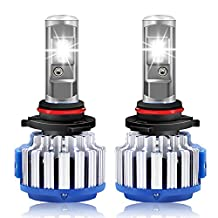 RCP - 9012 - LED Headlight CREE Bulbs Conversion Kits + Canbus (1 Pair) - 70W 7200Lm White(6,000K) - 2 Year Warranty
