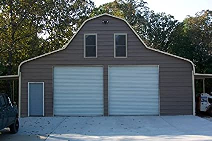 Durosteel Janus 12x12 Econmical Insulated 1950i Series Rv Shed