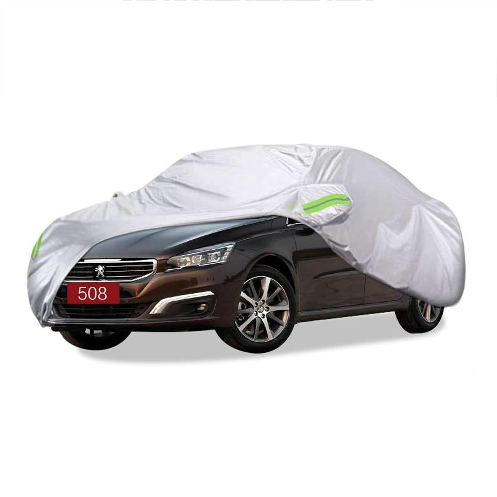 SXET-車のカバー 車のカバーダストカバーPEUGEOT508特別オックスフォード布防水傷防止UV保護難燃性コールド (サイズ さいず : 2016) 2016  B07PHQFVW1