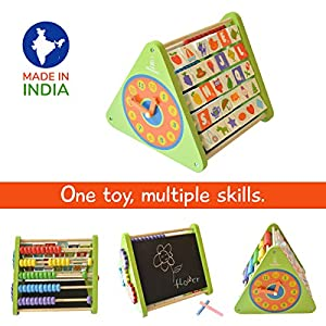 Shumee 5-in-1 Wooden Activity Triangle...