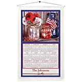 Personalized God Bless America Calendar Towel