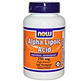 NOW Foods Alpha Lipoic Acid 250 mg 120 Vcaps 2 Pack Discount