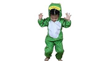 Matissa Niños Disfraces de Animales Niños Niñas Unisex Disfraces Cosplay  Niños Onesie (Rana 5d818213e9db
