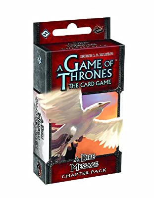 A Game of Thrones LCG: A Dire Message Chapter Pack Game by Fantasy Flight Publishing