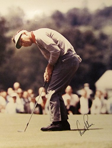 ARNOLD PALMER Hand SIGNED AUTOGRAPHED 16x20 PHOTO w/COA Masters - Signed Photo Palmer Arnold