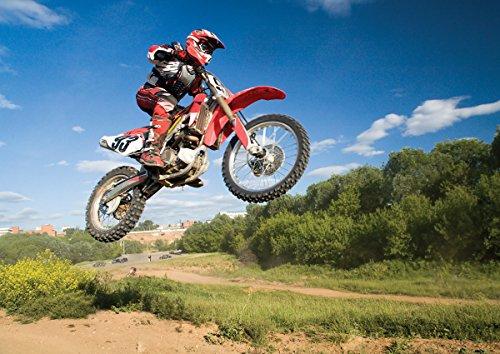 JP London MDXL91069PS Peel and Stick Motocross Dirt Bike ...
