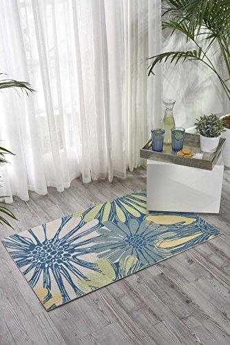 Nourison Home & Garden Area Rug, 2'3 x3'9, Blue from Nourison