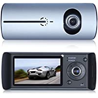 Lecmal Dashboard Camcorder, Support 32GB Micro TF Card (not included)-R300Gray