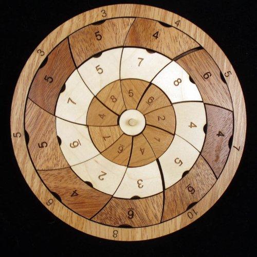 Pinwheel Wood Brain Teaser Puzzle ()