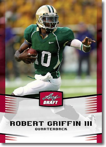 2012 Leaf Draft Day #40 Robert Griffin III - RG3 - Baylor (RC - Rookie Card)(NFL Football Trading Card)