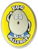 AllerMates Egg Allergy Charm for Multi-Allergy Wristband: Eggie