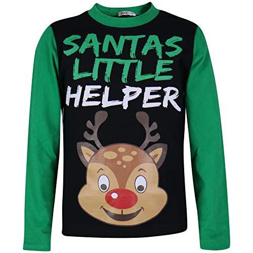 Edad Chicas 9 Pijamas os Pj's Ni os Green 13 10 Ya A2z Impreso Ni 7 4 Navidad Ni os 6 11 12 de 5 Falthy Rudolph A 8 os w7nxEEqZXR