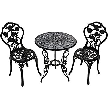 Amazon Com Patio Furniture Outdoor Garden Rose 3 Piece