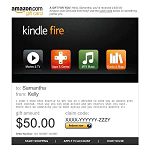 can i use an amazon  t card for kindle books