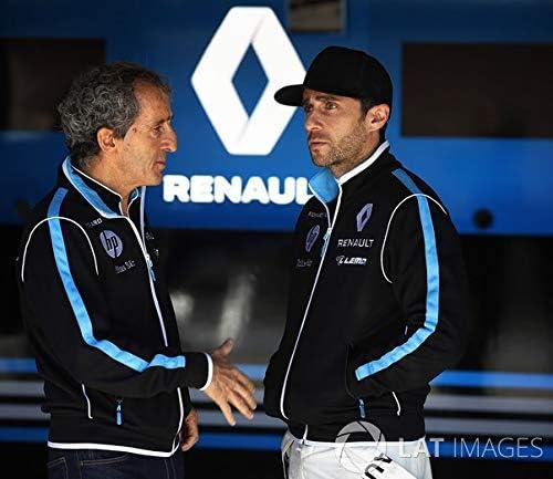 POLO Shirt Zip Formula E Renault 1 E.DAMS Sponsor Poloshirt Buemi Prost DE