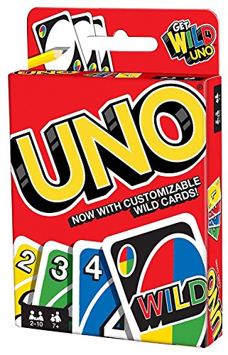 Mattel Games UNO Card Game Customizable with Wild -