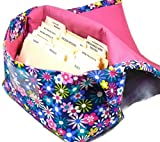 Coupon Organizer Holder Purse Happy Florals