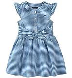 Tommy Hilfiger Women's Toddler Girls' Dress, Blue, 3T