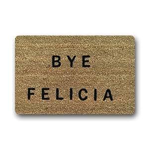 """Bye Felicia Doormat Custom Indoor Outdoor (23.6""""x15.7"""")"""