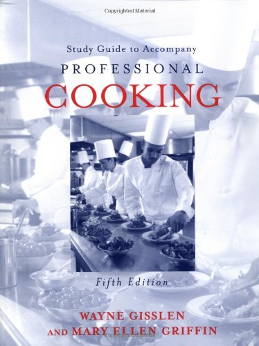 Professional Cooking: Study Guide