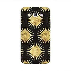 Cover It Up - Gold Black Star Galaxy J7 Hard Case