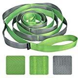 SANKUU Yoga Strap, Multi-Loop Strap, 12 Loops Yoga