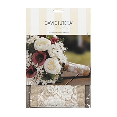 David Tutera Burlap Lace Bouquet product image